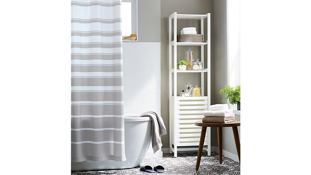 Banya White Bath Tower