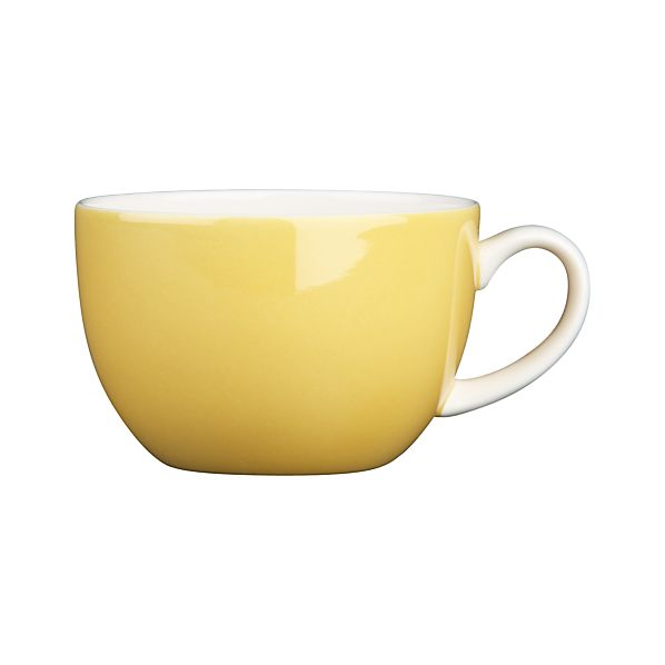 Hamptons Yellow Cup