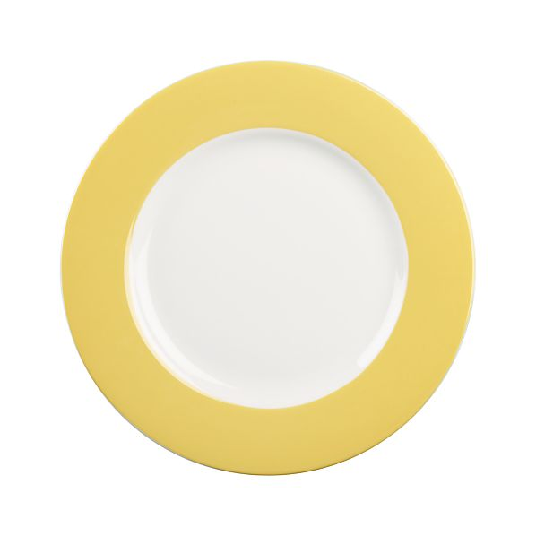 Hamptons Yellow Salad Plate