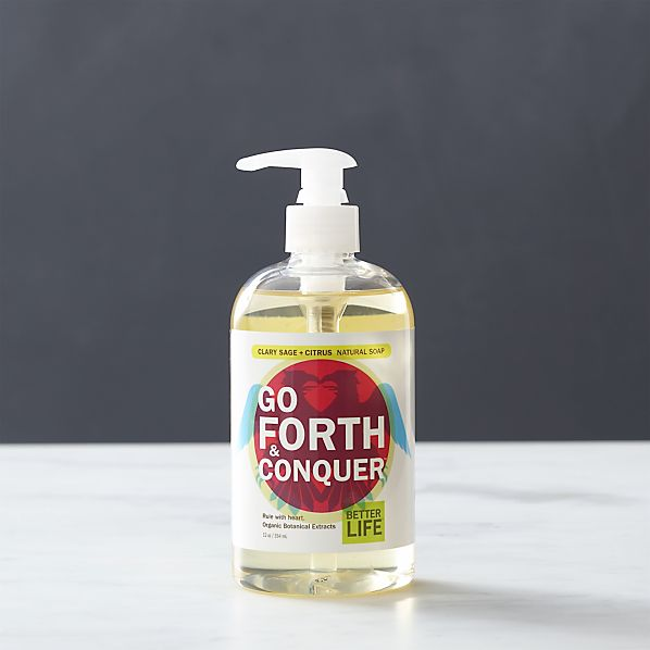 Better Life ™ Go Forth & Conquer ™ Natural Hand Soap