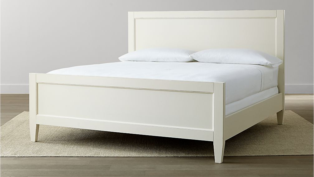 Harbor White King Bed
