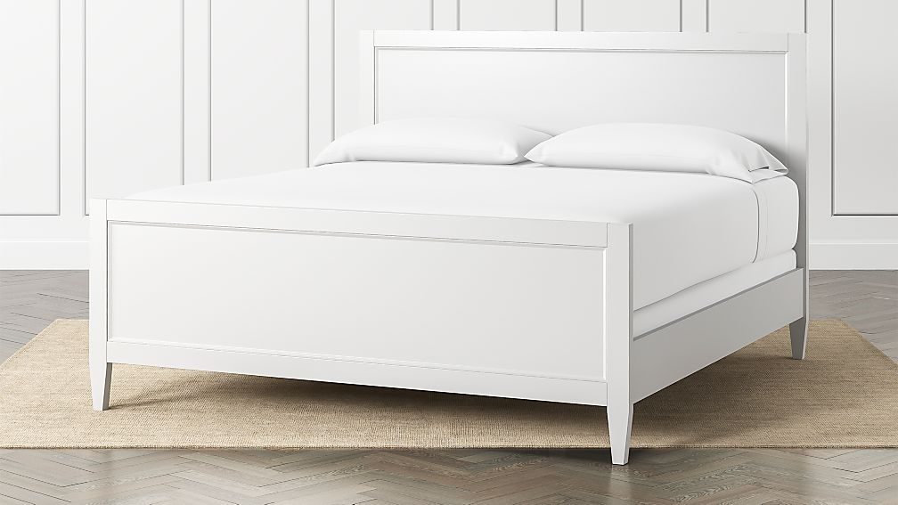 Harbor White King Bed - Image 1 of 3