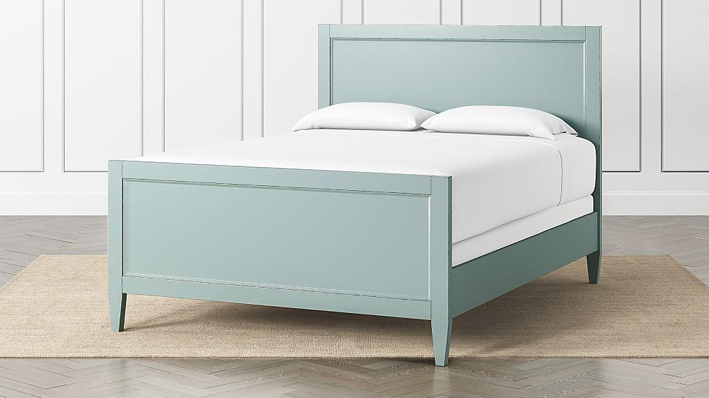 Harbor Blue Grey Queen Bed - Image 1 of 3
