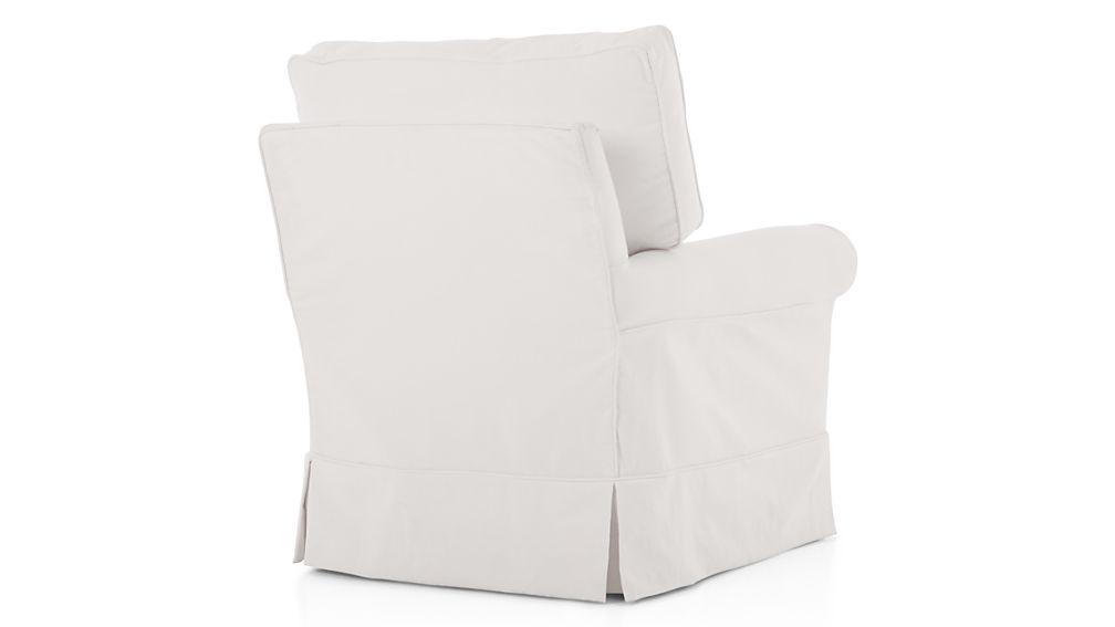 Harborside Slipcovered Swivel Glider In Chairs Reviews