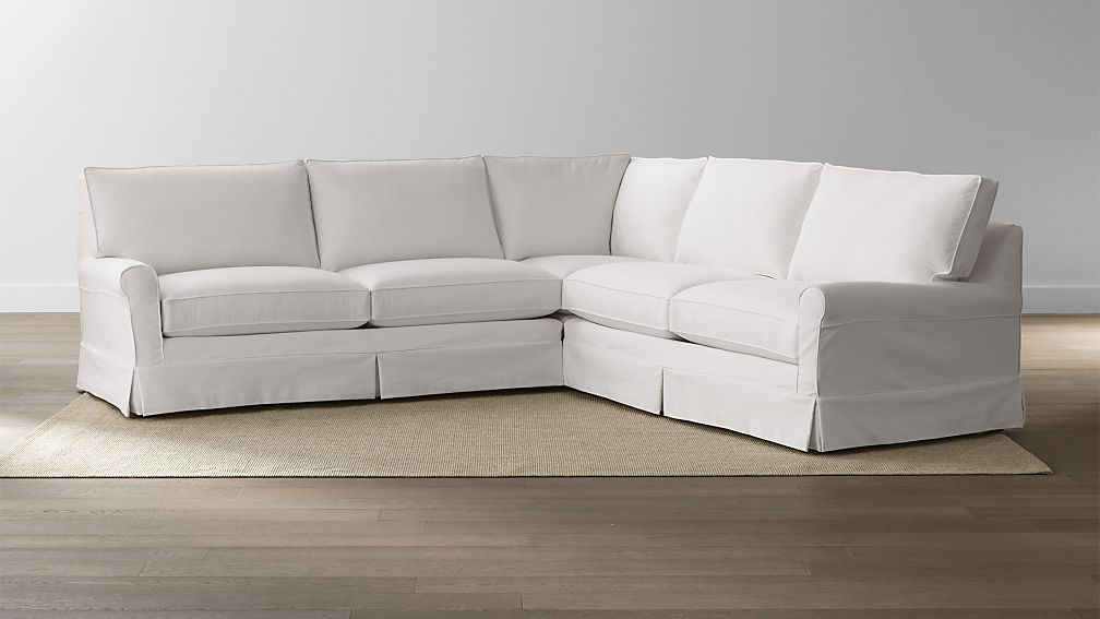 do cover a sectional to serial confessions of it piece how slip three slipcover make