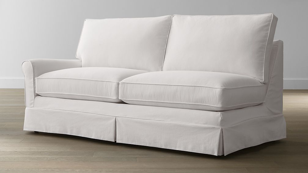 Harborside Slipcovered Left Arm Sofa