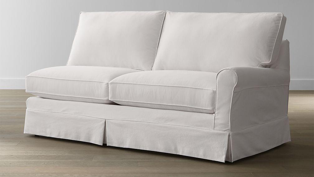 Harborside Slipcovered Right Arm Sofa