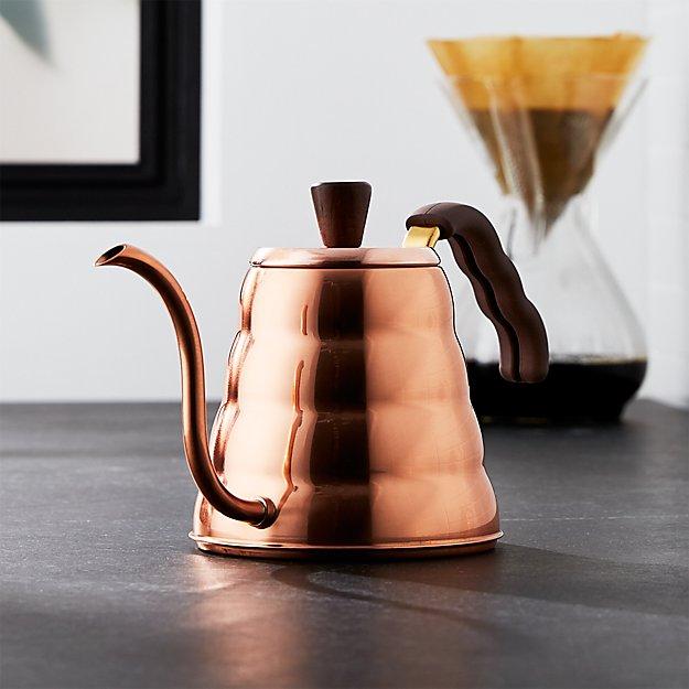 Hario Buono Copper Tea Kettle Reviews Crate And Barrel