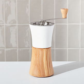 Hario Ceramic Olivewood Coffee Mill