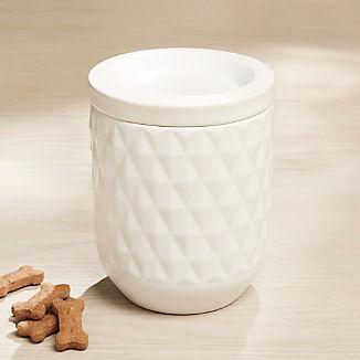 Harlequin Pet Treat Jar