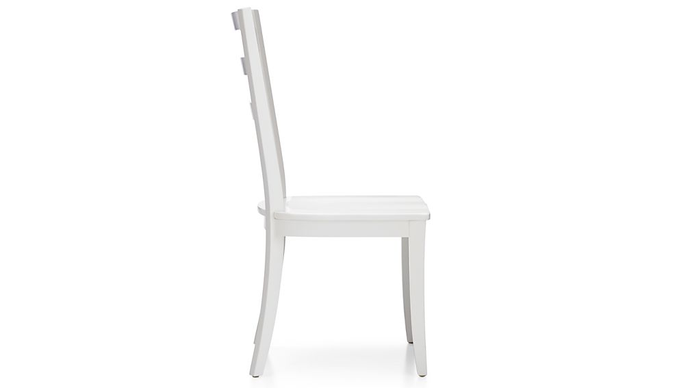 Harper White Ladder Back Dining Chair