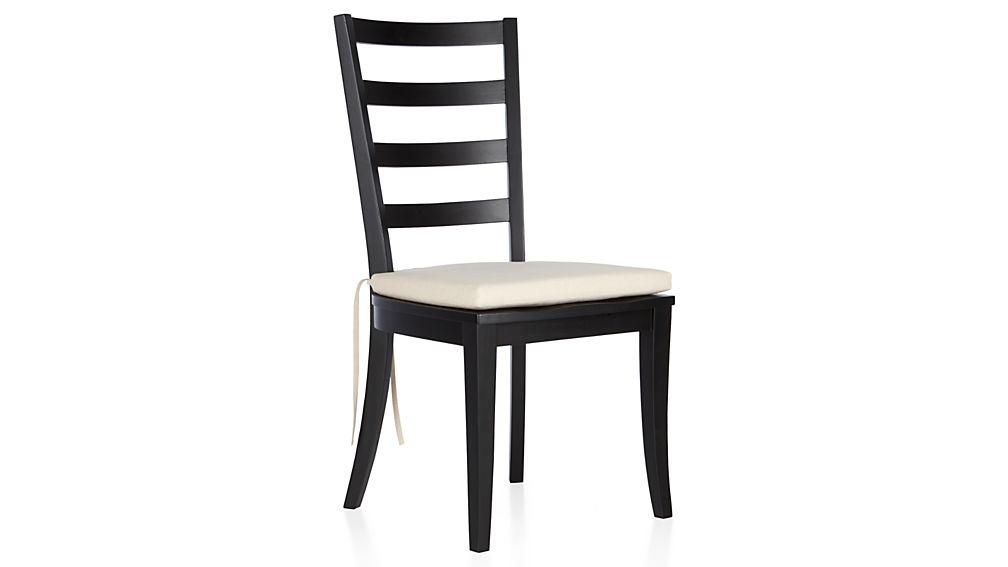 Harper Black Ladder Back Dining Chair