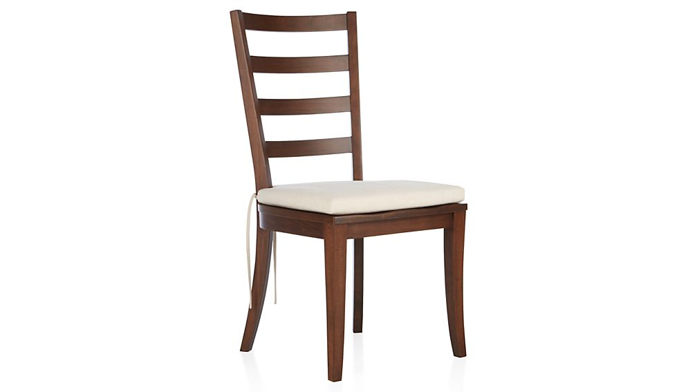 Harper Tea Ladder Back Wood Dining Chair