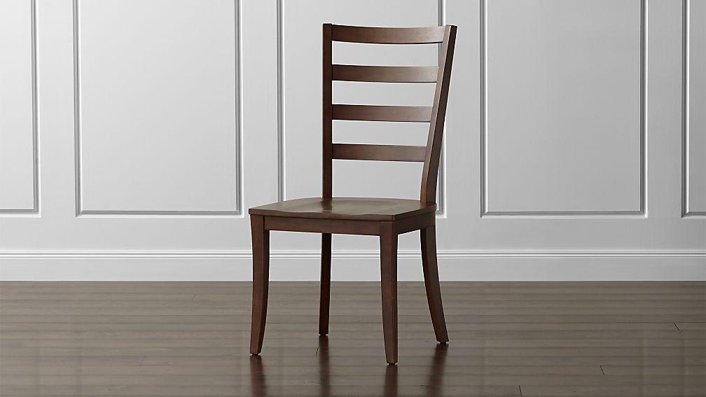 Harper Tea Ladder Back Wood Dining Chair