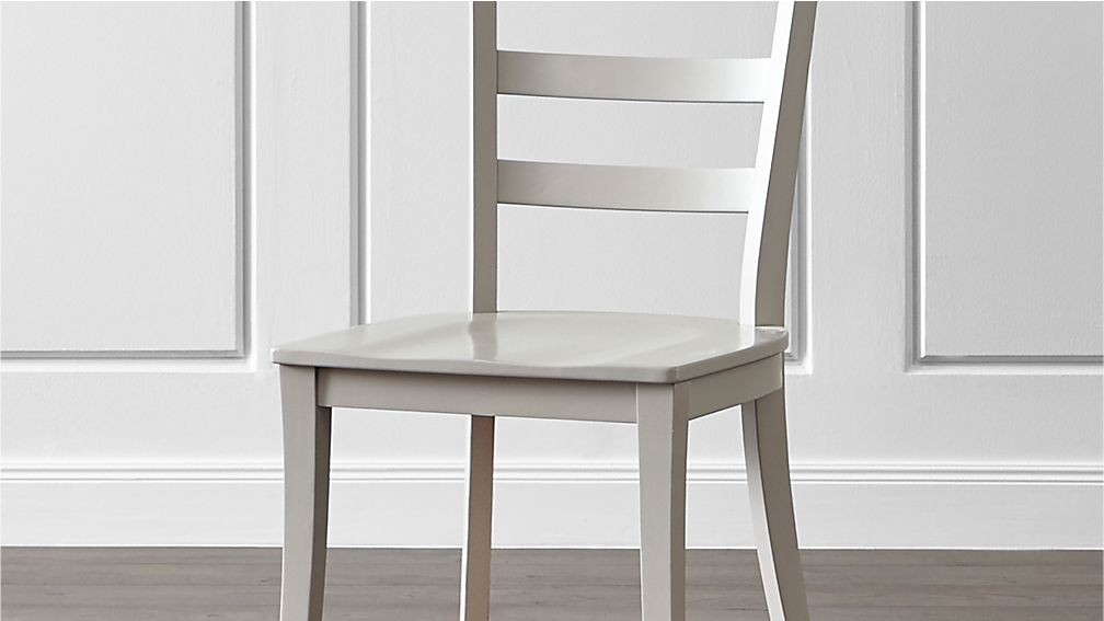 754851c03fe70 Harper Dove Grey Ladder Back Dining Chair and Sand Cushion