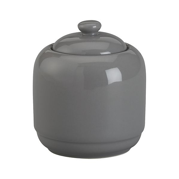 Harris Grey Sugar Bowl with Lid
