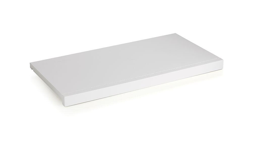 """Harrison Modular 24"""" White Shelf"""