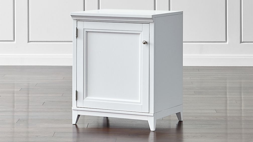 "Harrison 24"" White Base Cabinet with Door"