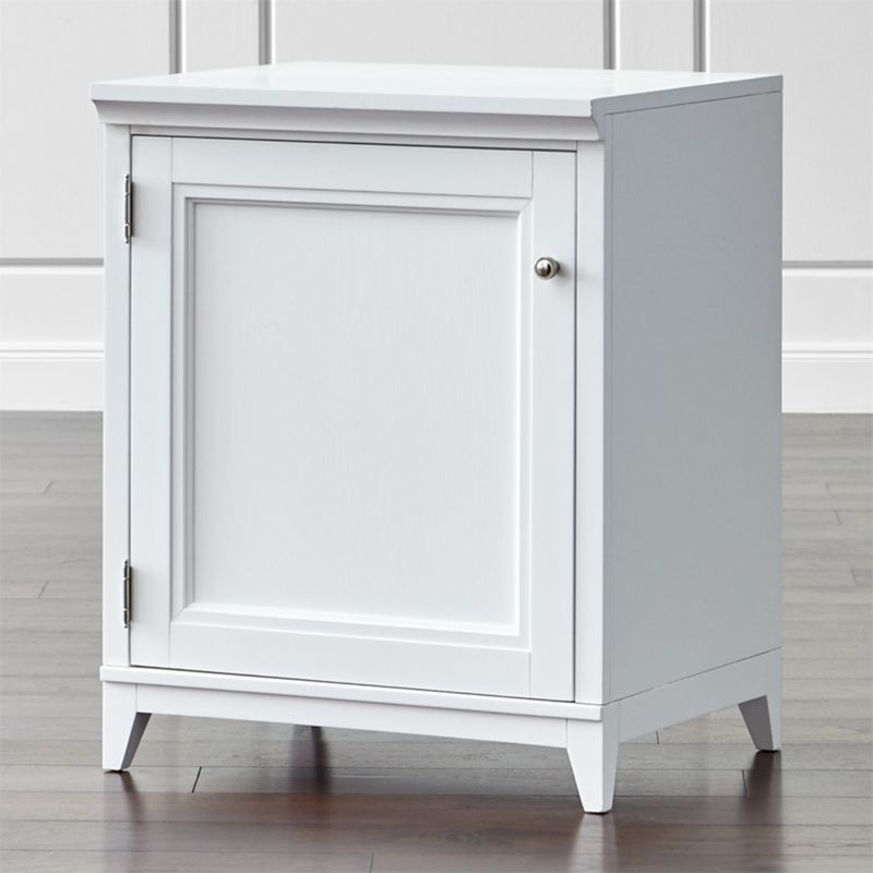 Harrison 24 White Base Cabinet With Door Crate And Barrel