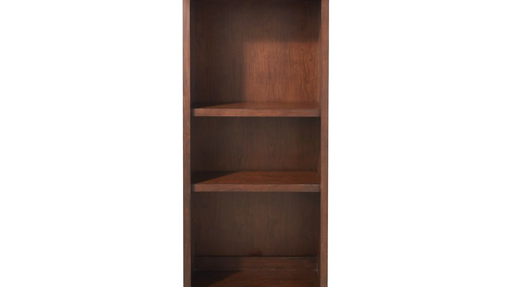 "Harrison 24"" Cognac Open Bookcase Hutch"