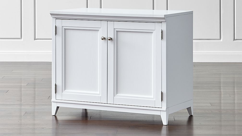 White Cabinets With Doors