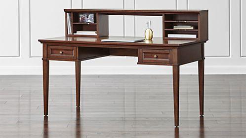 Stylish Sophisticated Amp Modern Desks Crate And Barrel
