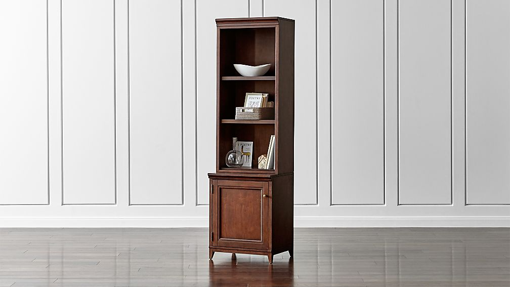 "Harrison 2-pc Cognac 24"" Open Top Bookcase"