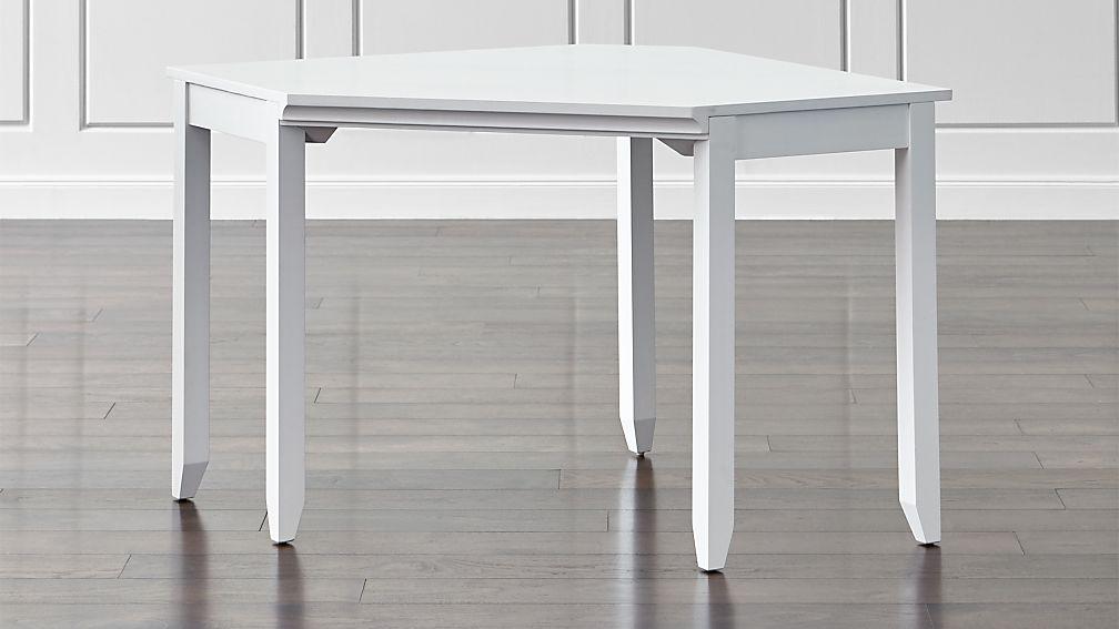 Harrison White Modular Corner Desk Crate and Barrel