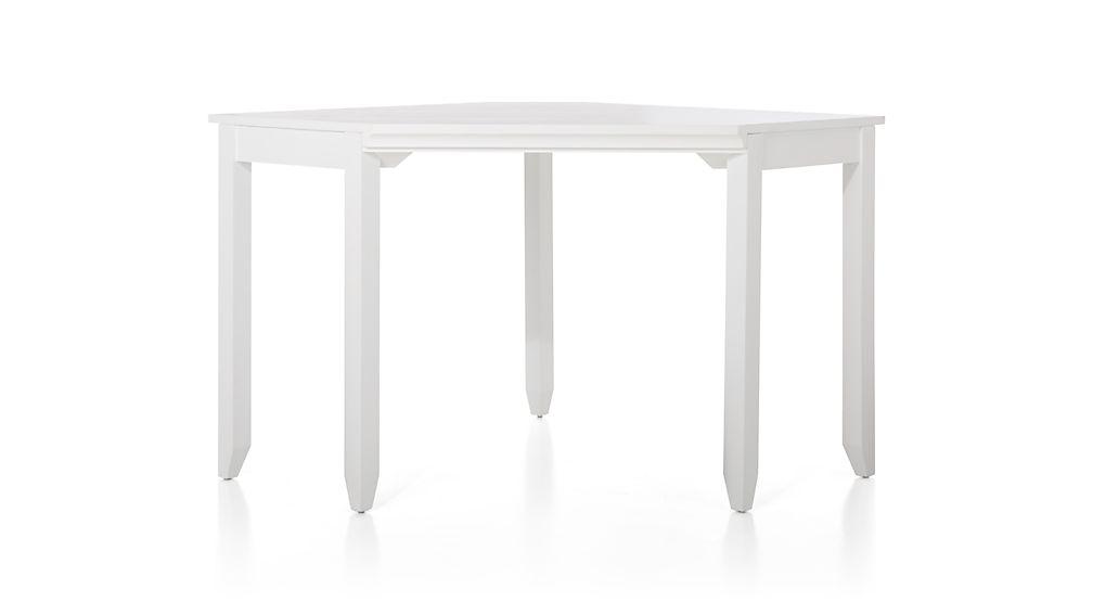 Harrison White Modular Corner Desk