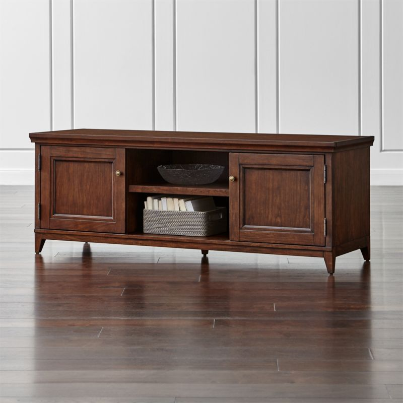 Harrison Cognac Modular Media Stand. Clearance   Outlet Furniture  Sofas and Dining Tables   Crate and