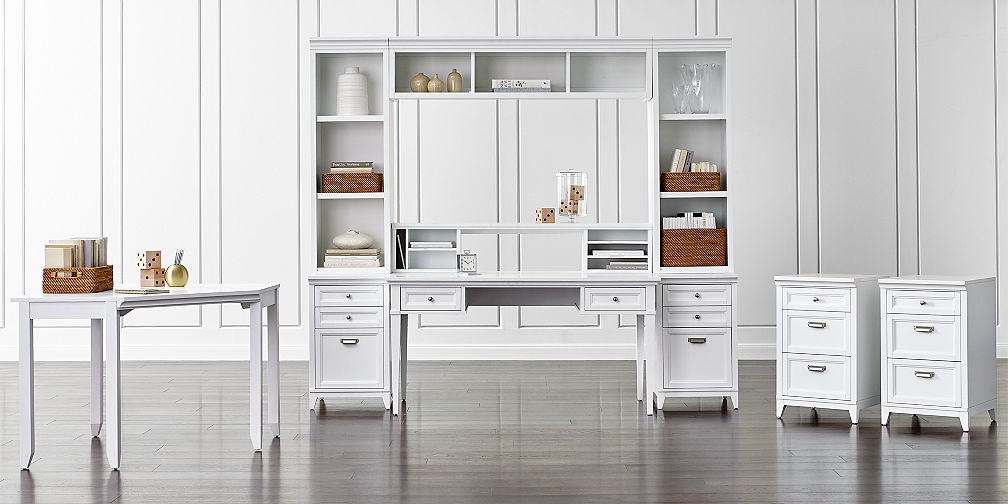 Modular office furniture crate and barrel - Home office modular furniture collections ...