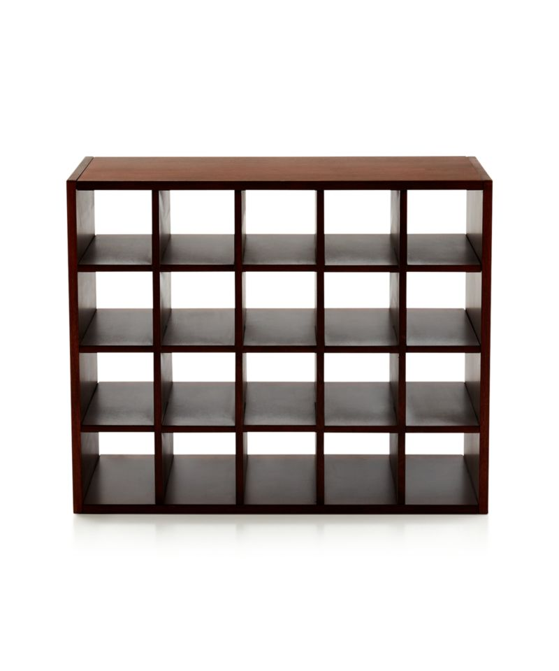 harrison cognac modular wine rack insert reviews crate. Black Bedroom Furniture Sets. Home Design Ideas