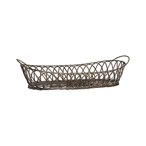 Harvest Bread Basket with Handles