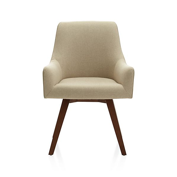 Excellent Harvey Natural Swivel Armchair Gmtry Best Dining Table And Chair Ideas Images Gmtryco