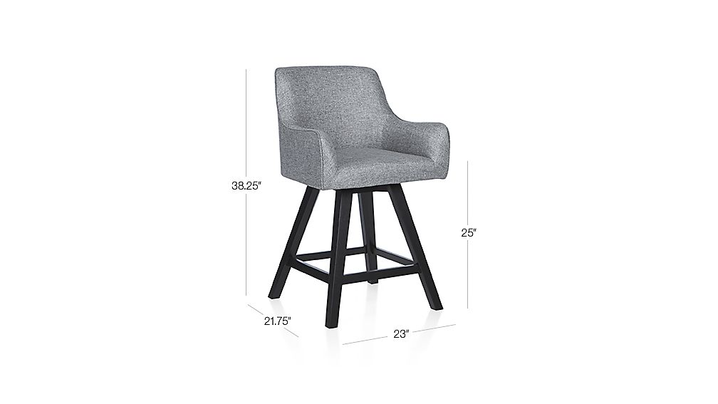 Harvey Swivel Counter Stool Crate And Barrel