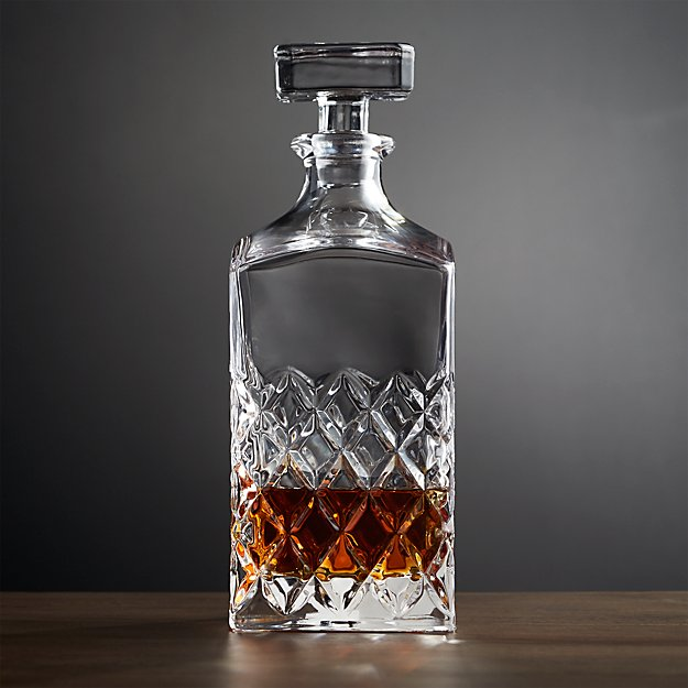 Hatch Cut Glass Decanter Reviews Crate And Barrel