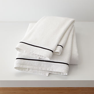 Haven 700-Gram Organic Black Bath Towels