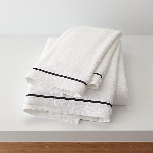 Haven 700-Gram Organic Black Bath Towels - Image 1 of 4