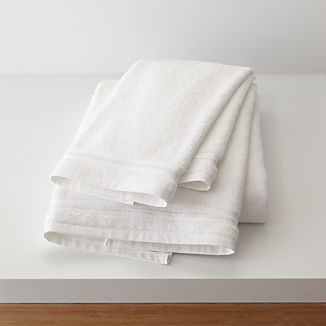 Haven 700-Gram Organic White Bath Towels