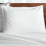 Haven Standard White Percale Pillow Sham