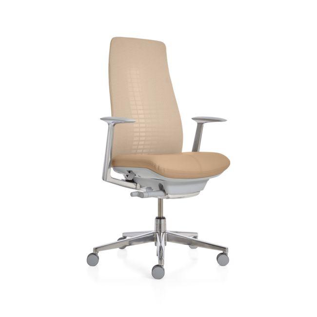 Haworth Sage Fern High Back Desk Chair From Crate Barrel Ibt Shop
