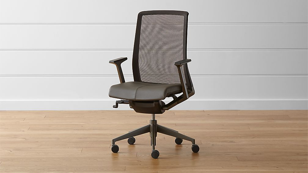 Haworth Very Task Chair Crate and Barrel