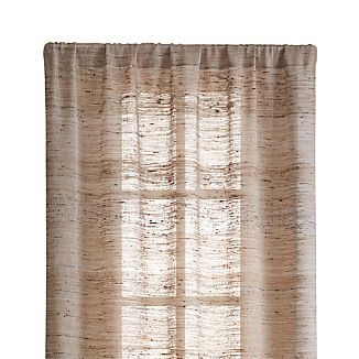 "Hayden 48""X84"" Silk Curtain Panel"