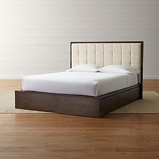 Hayden Natural Storage Bed