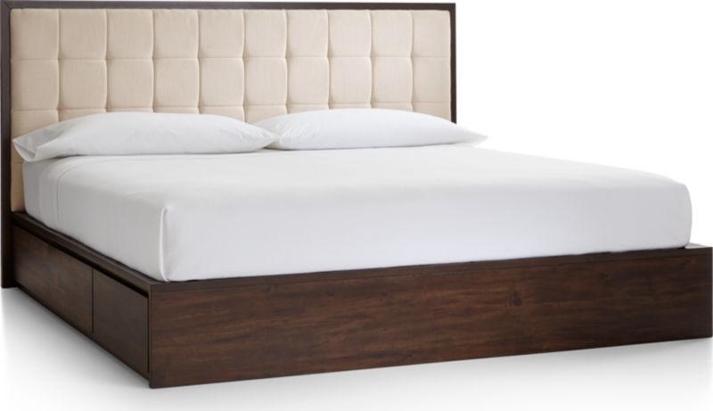 Hayden King Storage Bed