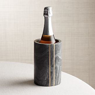 Hayes Black Marble Wine Cooler