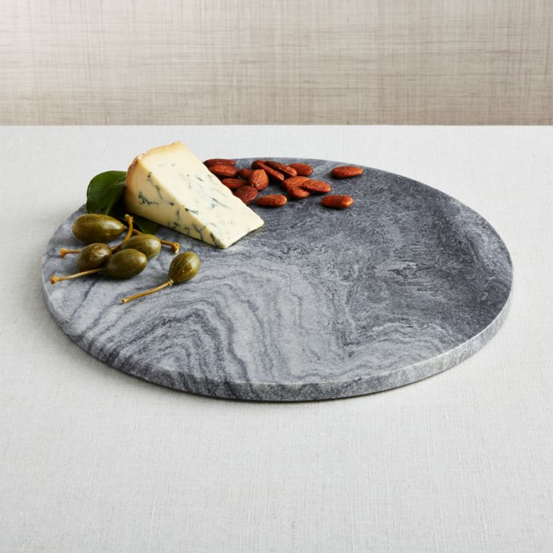 Hayes Black Marble Cheese Board Reviews Crate And Barrel