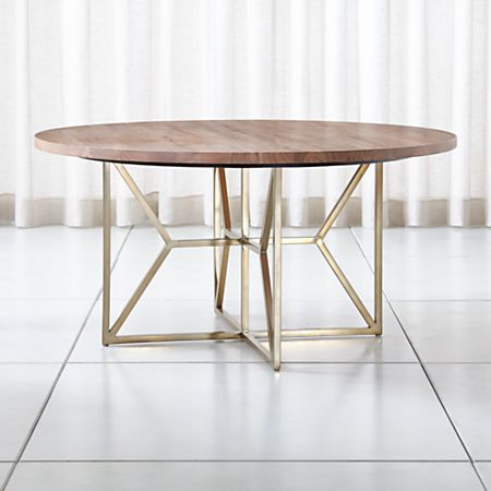 Peachy Hayes 60 Round Acacia Dining Table Download Free Architecture Designs Rallybritishbridgeorg
