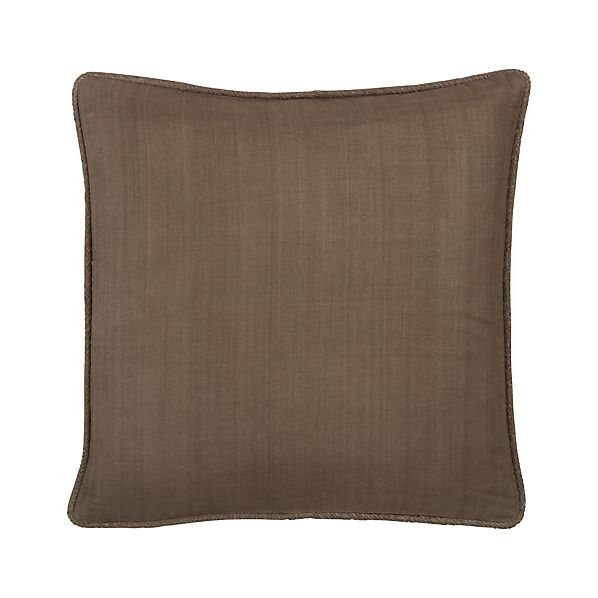 "Hayward Taupe 18"" Pillow"