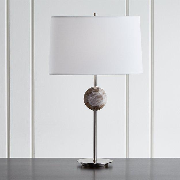 Hazel Smoke Quartz Table Lamp